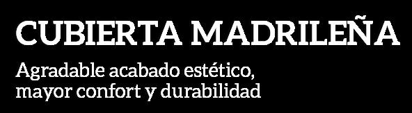 Texto cubierta madrileña